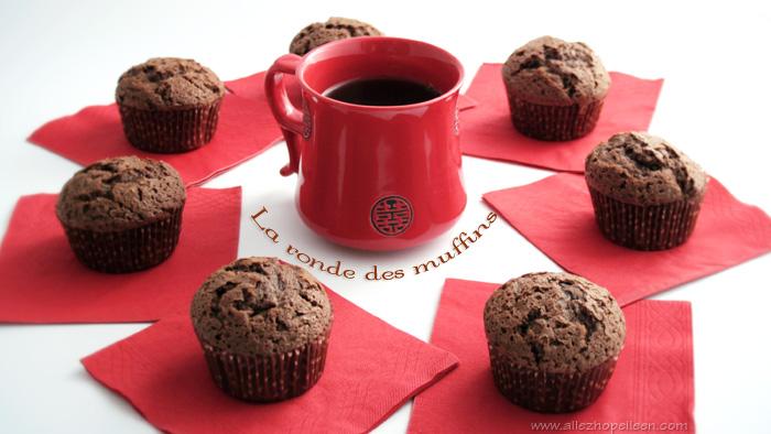 Recette de muffins moelleux au chocolat