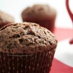 Muffins moelleux au chocolat // la ronde #1