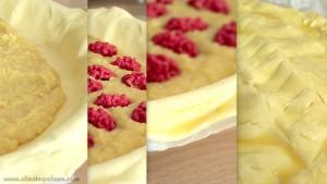 photo preparation de galette des rois frangipane et pralines roses
