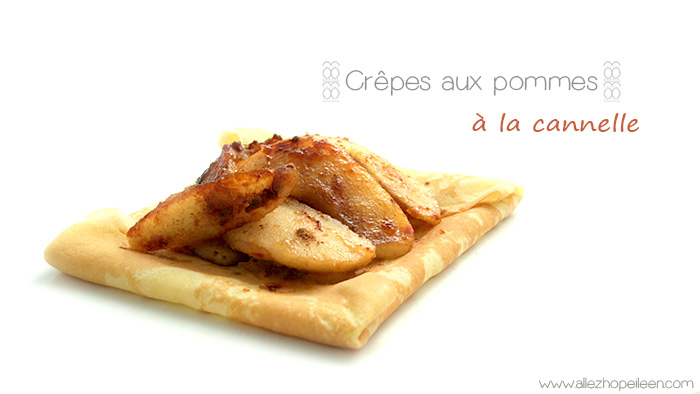 Photo crepes pommes cannelle