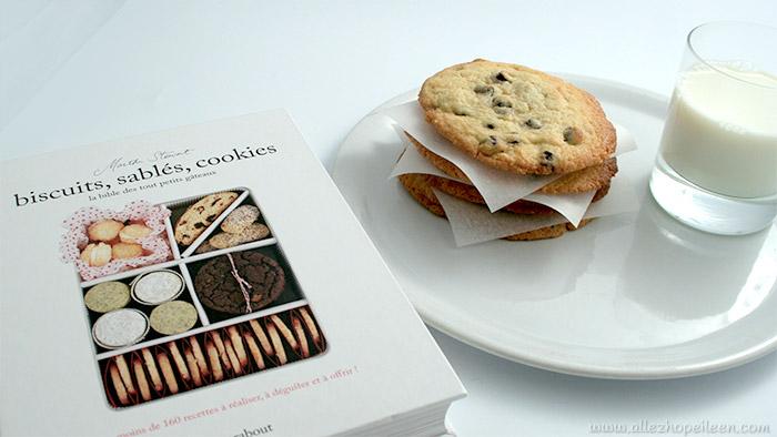 Recette de cookies americains