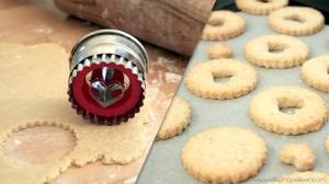 recette sables coeur fraise