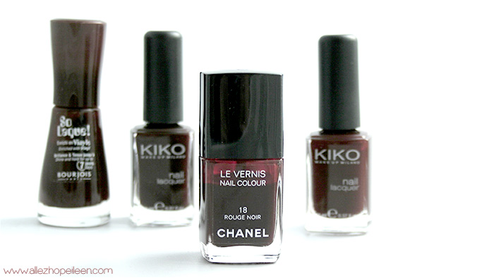 dupes du rouge noir de chanel