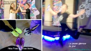 entrainement Nike au palais Brongniart
