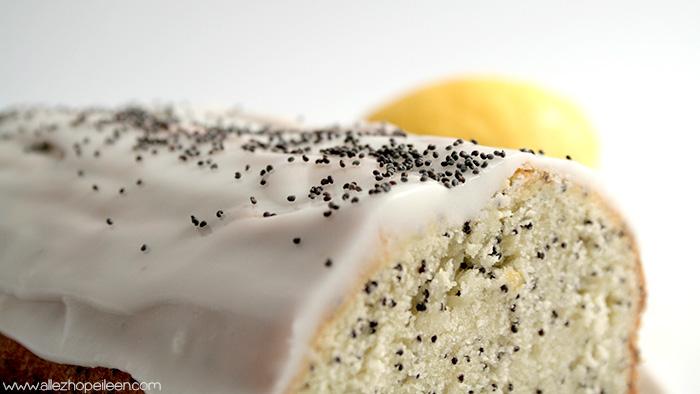 recette de cake moelleux au citron et pavot