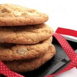 Cookies noix de macadamia et chocolat blanc