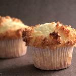 Muffins congolais – topping noix de coco