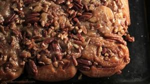 Recette cinnamon rolls noix de pécan