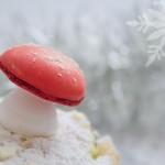 Champignons meringués pour la bûche {Noël}