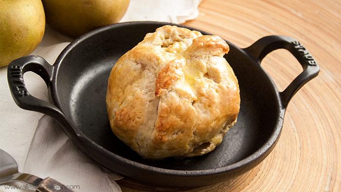 Recette bourdelots pomme au four
