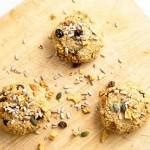 Cookies aux poires et aux graines {Vegan}