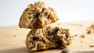 Recette cookies poires graines Vegan