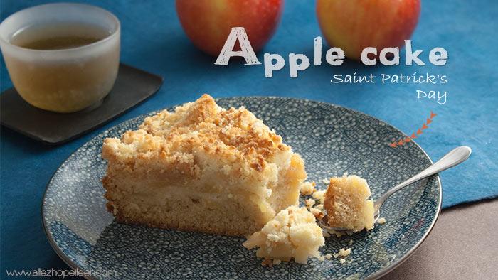 Recette apple cake st patrick
