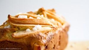 Recette cake aux poires healthy