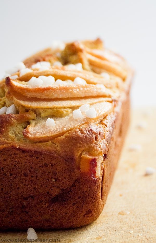 cake aux poires healthy allez hop eileen. Black Bedroom Furniture Sets. Home Design Ideas