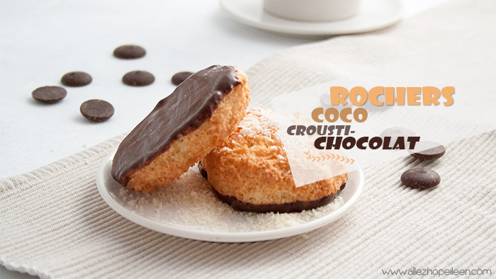 Recette rochers coco enrobage chocolat