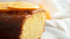 Recette cake moelleux orange