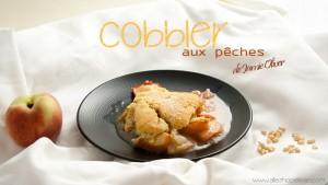 Recette cobbler peches Jamie Oliver