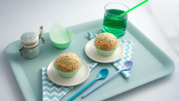 Recette muffins moelleux amande pavot