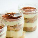 Tiramisu in a jar {recette originale}