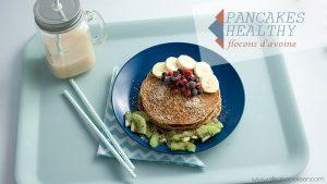 Recette pancakes flRecette pancakes healthy flocons avoineocons avoine