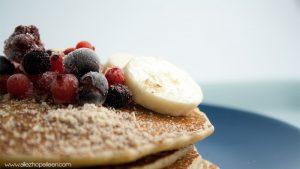 Recette pancakes healthy flocons avoine