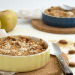 Crumble aux pommes à la purée d'amande