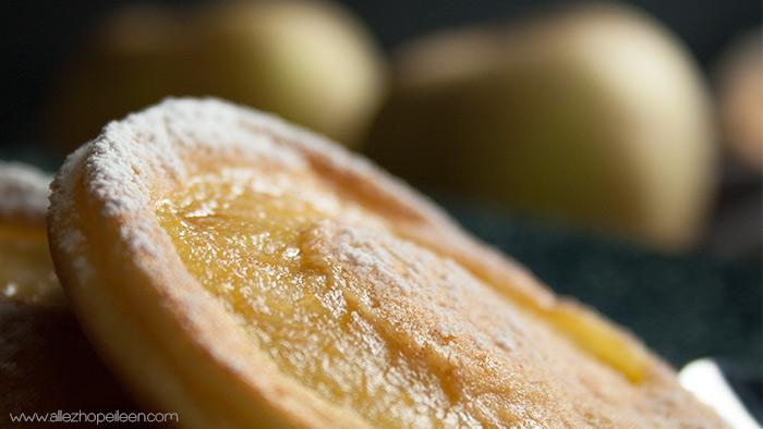 Recette pancakes moelleux pommes mascarpone