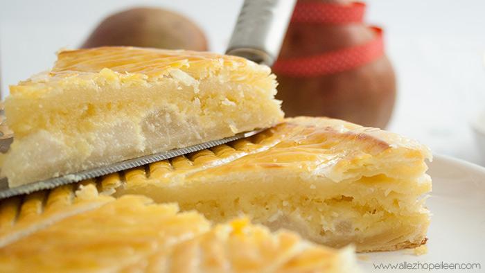 Recette galette des rois frangipane poires