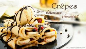 Recette crepes sucrees chocolat banane