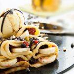 Crêpes banane chocolat {et que ça saute !!}