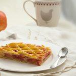 Grillés pomme-framboise {à la vanille}