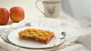 Recette grilles pomme framboise