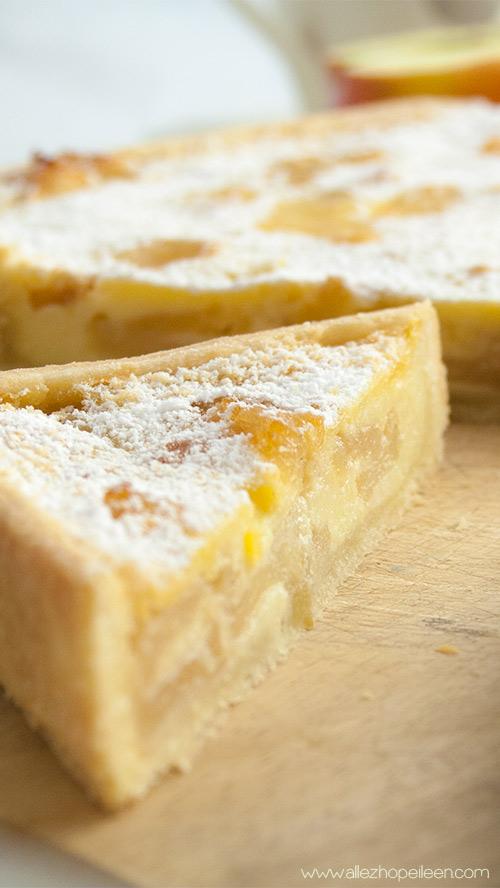 Recette tarte normande pommes Eric Kayser