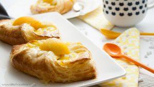 Recette oranais croissants abricot pate levee feuilletee