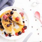 Pancakes aux pépites de chocolat {so fluffy !}