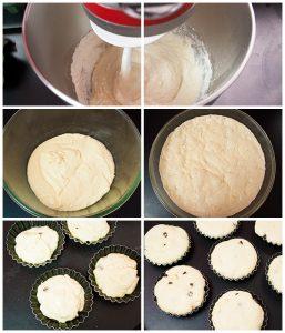 Recette petits pains aux trois chocolats
