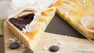 Recette tarte aux poires amande