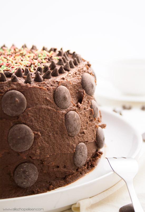 Recette layer cake tout chocolat