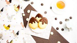Recette sables paques oeufs chocolat