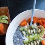 Healthy bowl {fromage blanc – graines de chia}