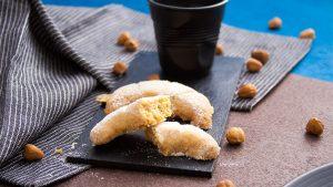 Recette croissants de lune - sables noisette