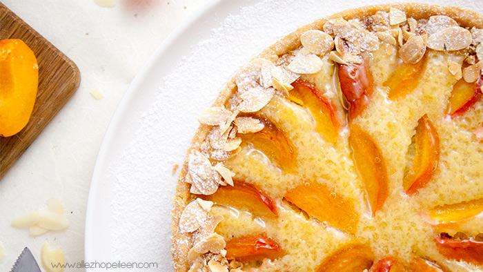 Recette tarte aux abricots creme d'amandes
